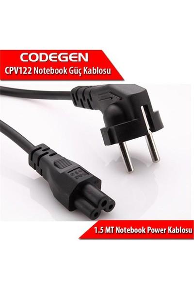Codegen (CPV122) Notebook Güç Kablosu (0,75mm) 3Uçlu