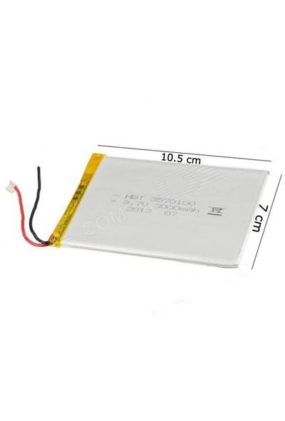 Escort 8 Ve 9 İnç 3.7V 5000Mah Tablet Batarya