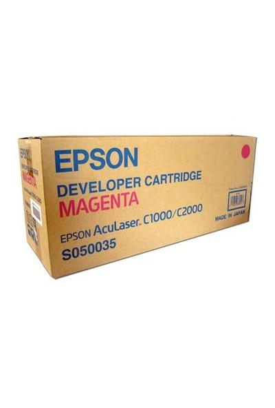 Epson S050035 C1000-C2000 Magenta Developer Kartuş