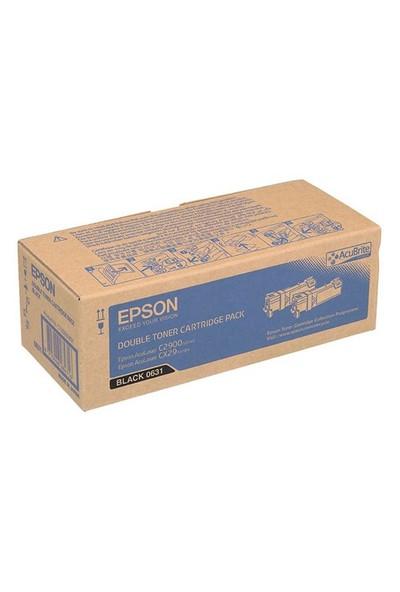 Epson C2900dn Cx29 Black Toner İkili Paket