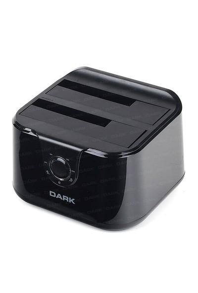 """Dark StorexD24C Çift 3.5""""/2.5"""" Usb3.0 Sata Klon Destekli Disk İstasyonu (DK-AC-DSD24C)"""