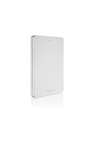 """Toshiba Canvio Alu 2TB 2.5"""" Gümüş Taşınabilir Disk (HDTH320ES3CA)"""