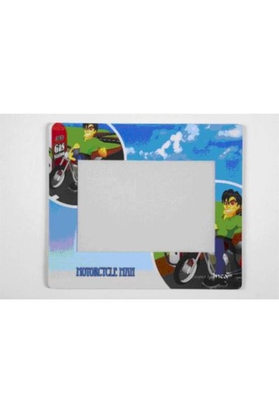 Inca Motorcycle Photo Frame Mouse Pad IMP-007