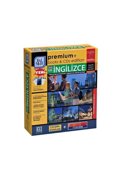 Tell Me More Premium İngiliz İngilizcesi - İleri + İş + İş Plus Düzeyi (12 CD ROM)