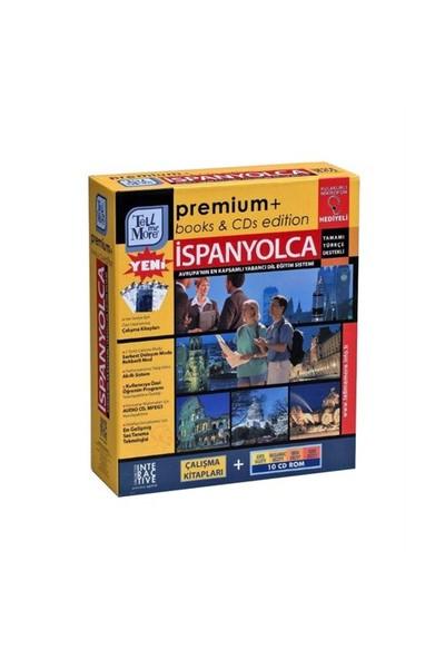 Tell Me More Premium İspanyolca-Giriş+Başlangıç + Orta + İleri Düzey (10 Cd Rom)