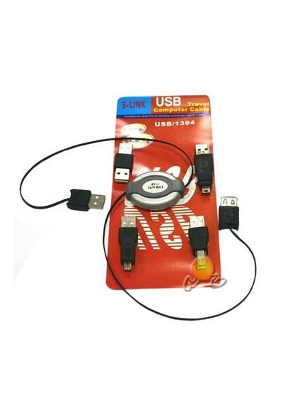 S-link SL-28 USB usbam + ubsbm + 1394 + Ucm Cam Set