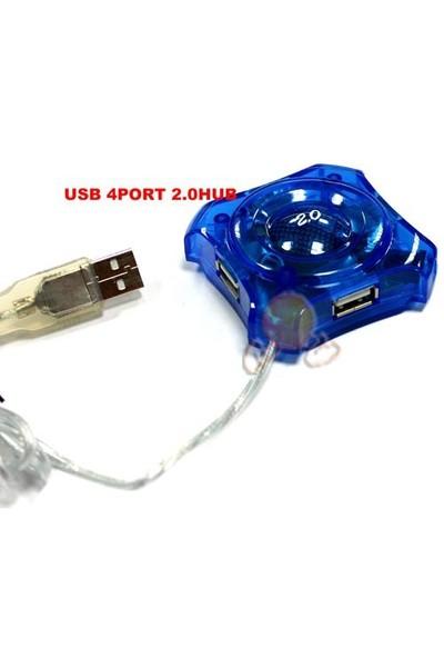 S-link 4 Port USB 2.0 Yıldız Hub