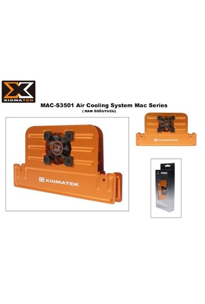 Xigmatek Mac-S3501 Memory Cool Ram Soğutucu