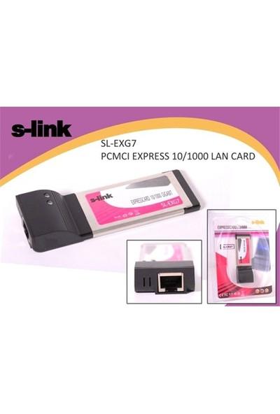 S-Link Sl-Exg7 Pcmci Express 10/1000 Lan Kart