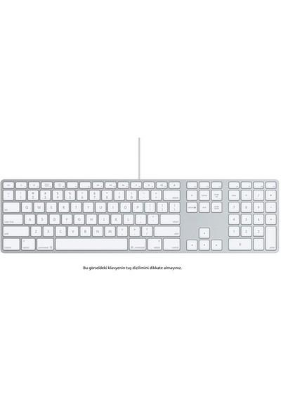 Apple Numerik Alanlı Kablolu Q Klavye (MB110TQ/B)