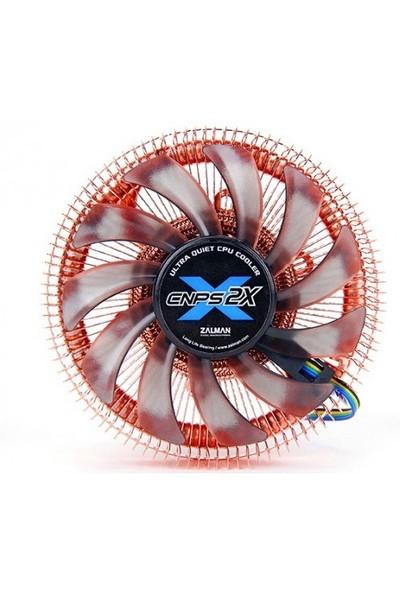 Zalman CNPS2X Mini-ITX 80MM PWM Fanlı 775/1150/1155/1156 AM2/AM2+/AM3/AM3+/FM1/FM2 İşlemci Soğutucu