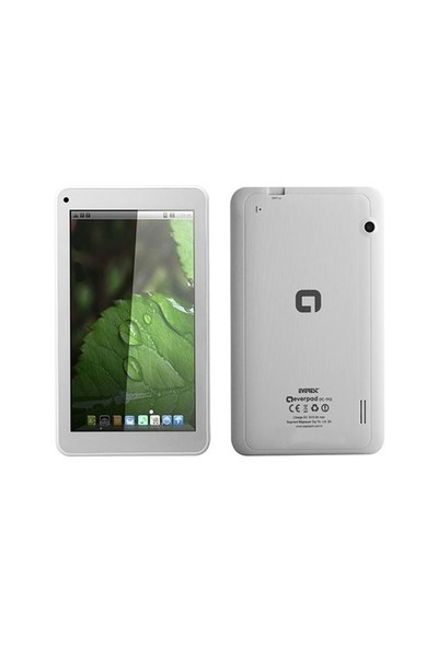 Everest Everpad Dc-1112 7 Hd Panel 512 Ddr3 1.5Ghz Quad Core 8Gb Çift Kamera Android 4.4 Kitkat Tablet Pc