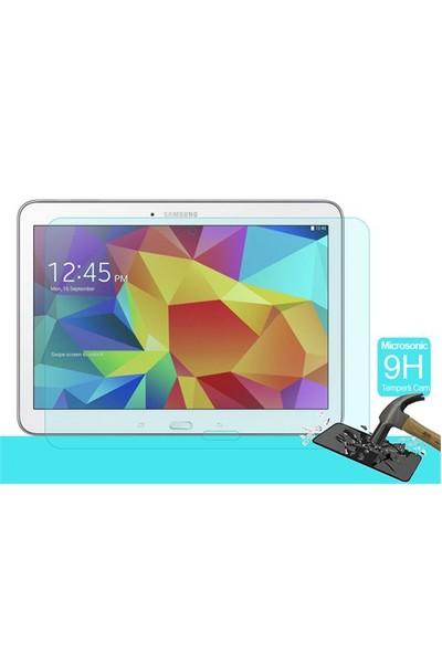 Microsonic Temperli Cam Ekran Koruyucu Samsung Galaxy Tab4 T530 10.1 İnch Kırılmaz Film