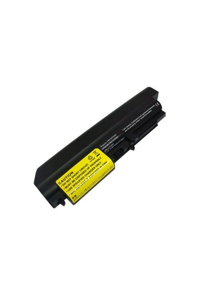 "Retro IBM ThinkPad T400, R400, 14.1"" widescreen T61, T61p, R61, R61i Yüksek Kapasiteli Notebook Batarya RIL-055"
