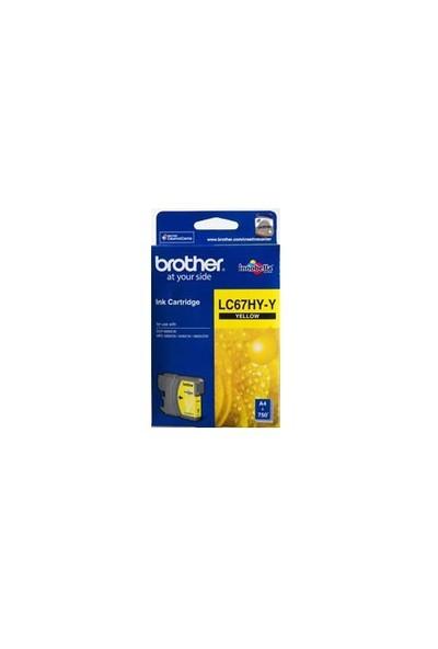 Brother LC67HYY Sarı Kartuş