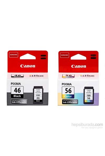 Canon Pıxma E464 Orijinal Renkli Yazıcı Mürekkep Kartuş