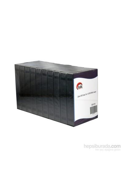 Elba Qd-3210 10Lu Siyah 33Mm Dvd Case (Kutu)