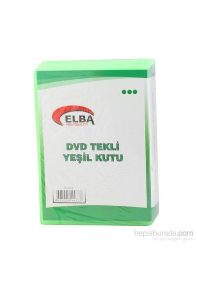 Elba Pl-221E Tekli Yeşil Renkli Standart Dvd Kutus