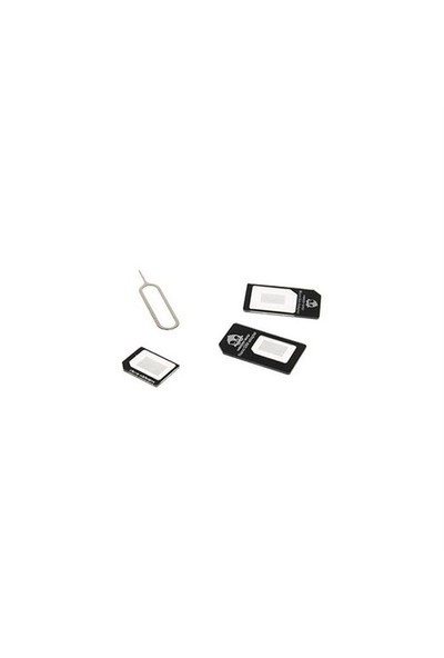 Addison Ip-Ad10 Mikro+Nano İphone 4/5/6 Uyumlu 4İn1 Sim Kart Dönüştürücü