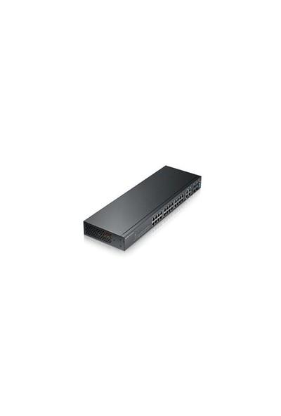 Zyxel Gs2210-24 24 Port 10/100/1000 + 4Xdual+2Xsfp L2 Yönetilebil