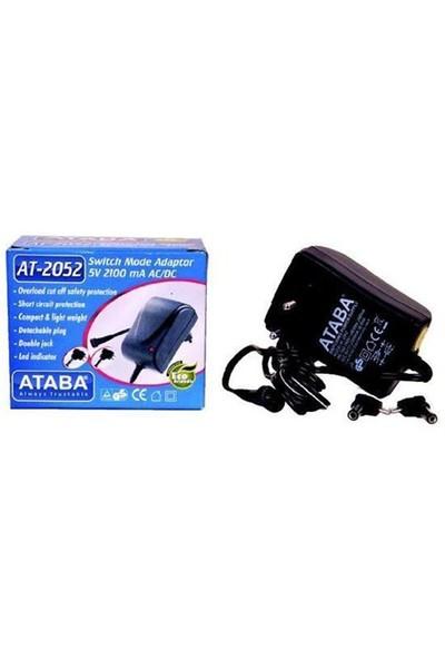 Ataba At-2052 5V 2100 Mah Çift Jacklı Adaptör