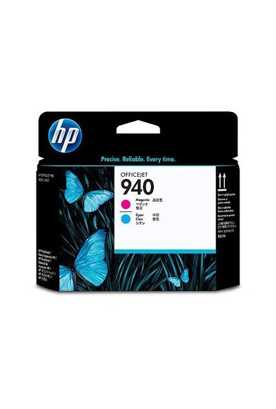 HP 940 Kırmızı + Mavi Baskı Kafası C4901AE / C4901A
