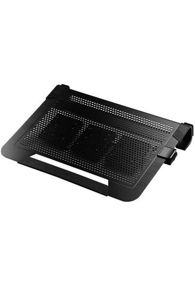 "Cooler Master R9-NBC-U3PK-GP Siyah NotePal U3 Plus 19"" Notebook Soğutucu"
