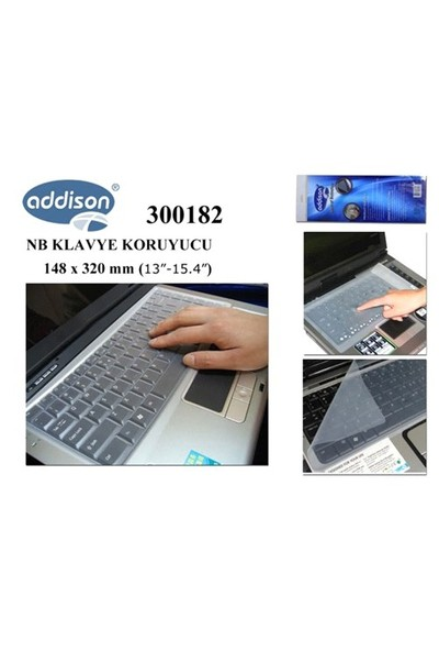 Addison 300182 13`-15.4` Notebook Klavye Koru