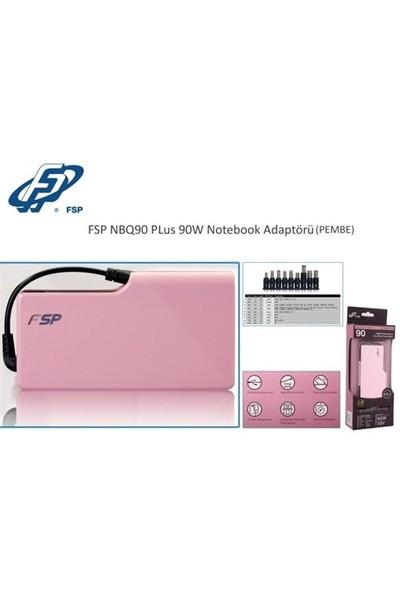 Fsp Nbq90 Plus 90W Pembe Notebook Universal Adaptör
