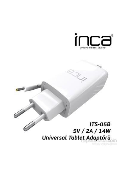 Inca ITS-05B 2.5mm 5V 2A Beyaz Tablet Şarj Adaptörü