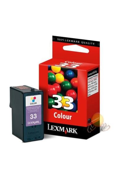Lexmark 33 Renkli Kartuş 018CX033E