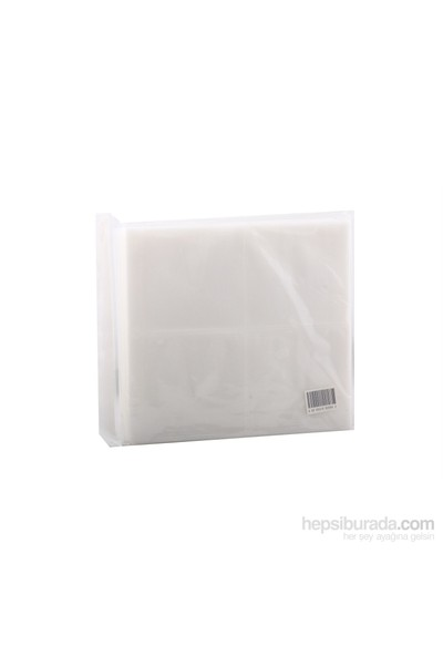 Cd Zarfı Beyaz 8Cds Nylon Slevees 50'Li