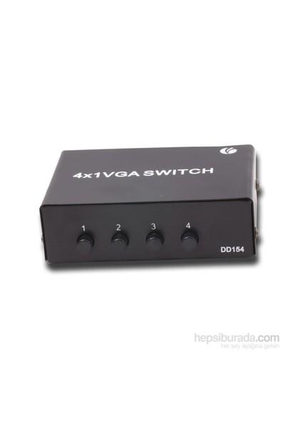 Vcom Dd154 4Pc-1Mn Manuel Kvm Switch