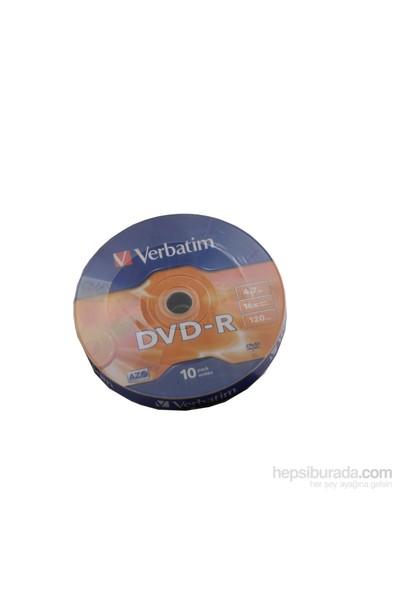 Verbatım 43729 Dvd-R 4.7Gb 120Mın 16X 10Lu Shrink