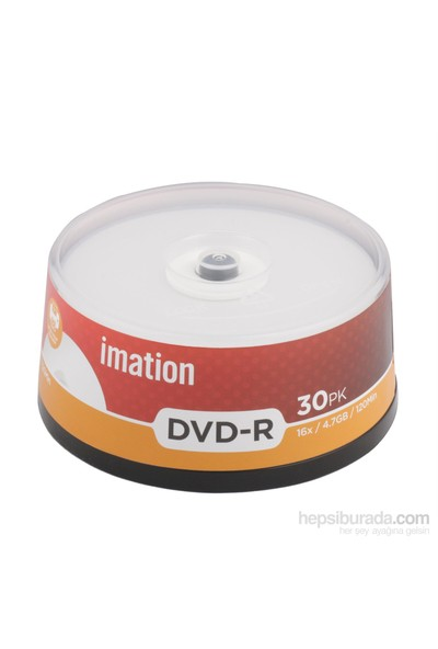 Imatıon Dvd-R 16X 4,7Gb P.Table 30Lu C.Box (22373)