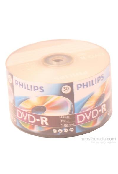 Phılıps Dvd-R 4.7Gb 120Mın 1-16X 50Li Shrink