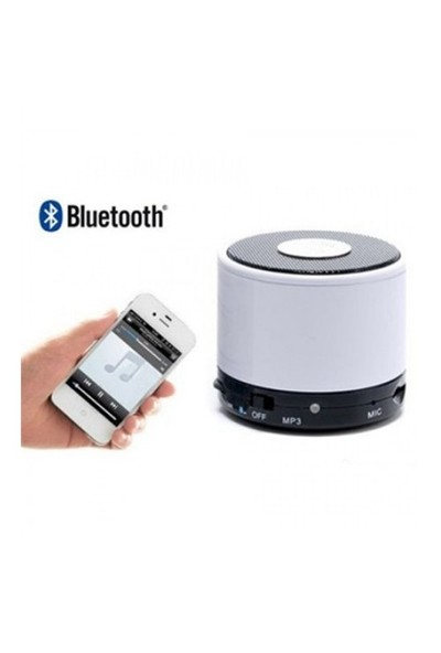 Sfm Mini Bluetooth Speaker Sk-S10 Beyaz