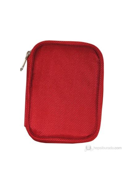 """Lizer Hd 8801-4 2.5"""" External Harddisk Çantası Kırmızı"""