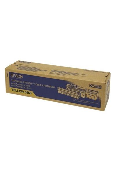 Epson C13S050558 1600 Sayfa Kapasiteli Sarı Toner