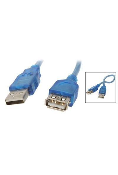 Codegen USB 2.0 Uzatma Kablosu 3mt. Mavi USB Kablo (CPM15)