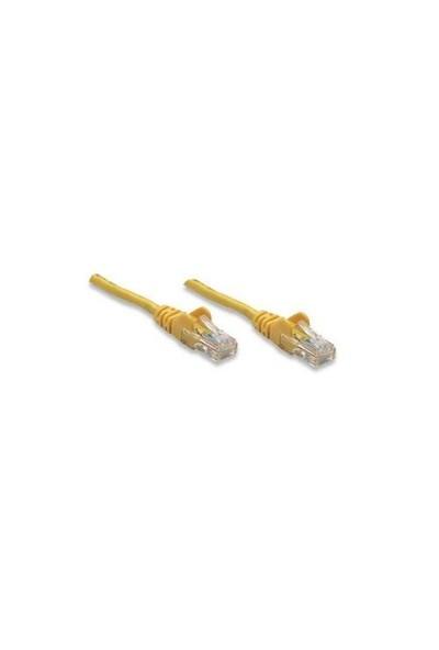 Intellinet CAT6 10mt Sarı UTP Patch Kablo 343787