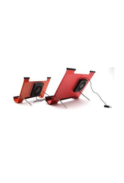 Volk LF-NB001 Kırmızı Mini Notebook Soğutucu