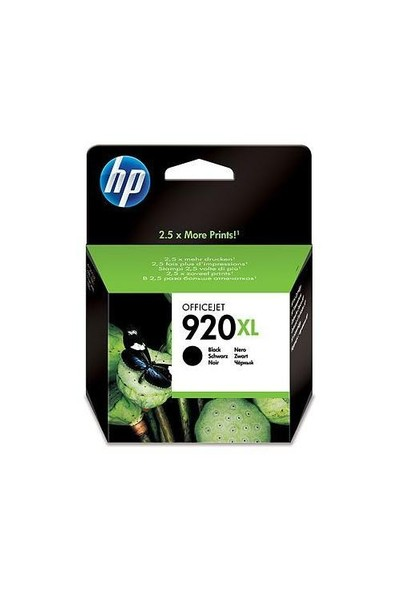 HP 920XL Siyah Mürekkep Kartuş CD975AE / CD975A