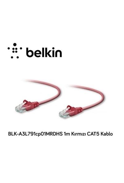 Belkin Blk-A3l791cp01mrdhs 1M Kırmızı Cat5 Kablo