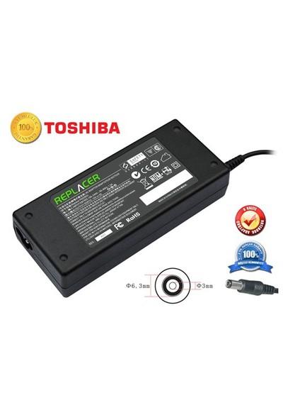 Replacer TOSHIBA 15V 5A 75 WATT (6.3 * 3.0 mm) - Notebook Adaptör
