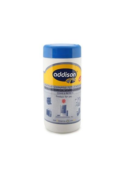 Addison 300888 Anti Bakteriyel Ph5.5 Ofis Temizleme Islak Mendil