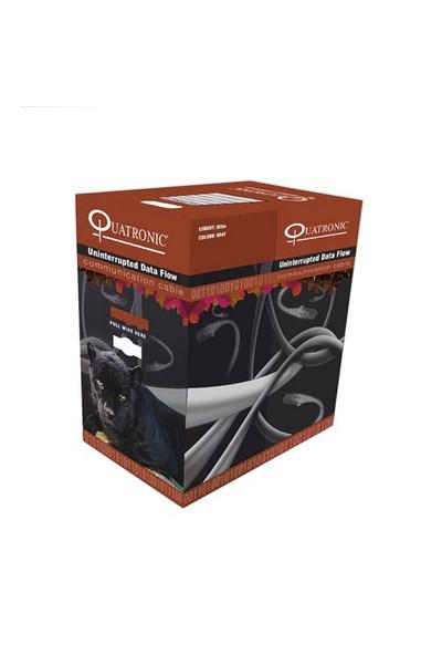 Quatronic CAT6 305M 23AWG (0,56mm) UTP %100 Bakır