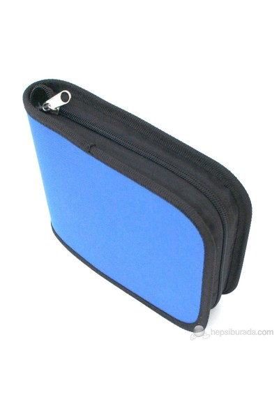 Lizer PNJ40-3 40'lı Mavi CD Çantası