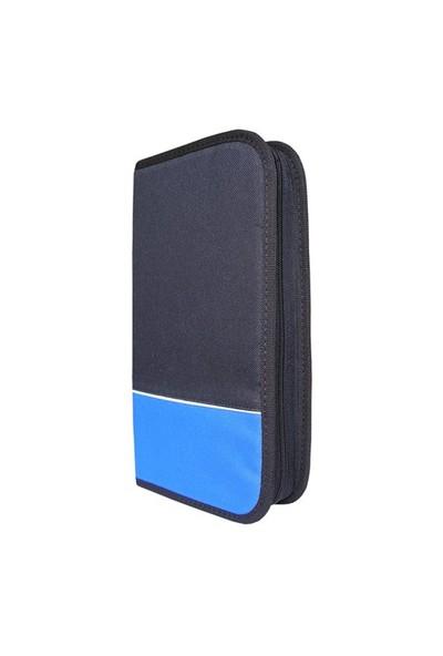 Lizer NJP80 80li Mavi-Siyah CD Çantası