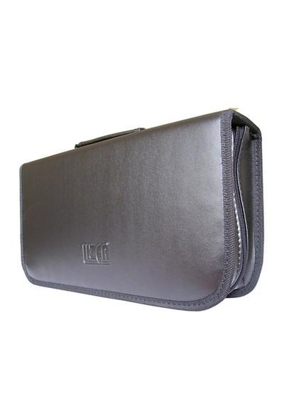 Lizer LC120 120li Siyah Deri CD Çantası